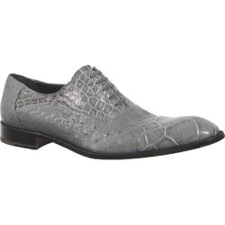 Men's Mauri Lustre Medium Grey Alligator/Ostrich