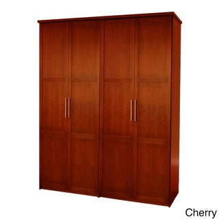 'Eifel' 80-inch 4-door Wardrobe Set