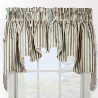 Line Up Duchess 2-piece Window Valance