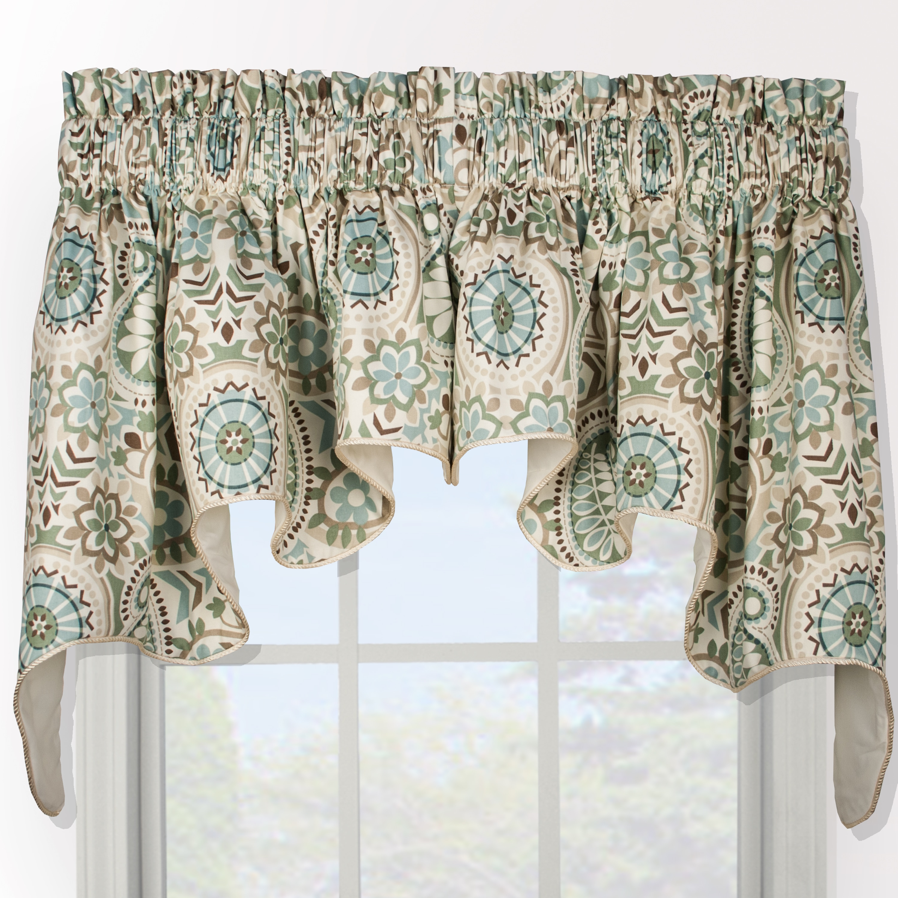 Paisley Prism Duchess 2-piece Window Valance at Sears.com