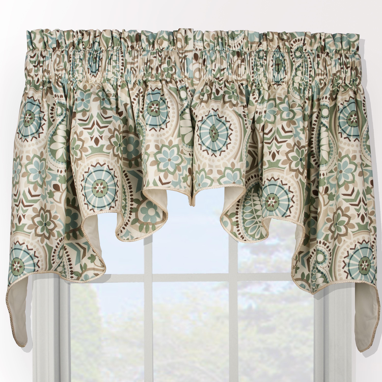 Overstock.com Paisley Prism Duchess 2-piece Window Valance at Sears.com
