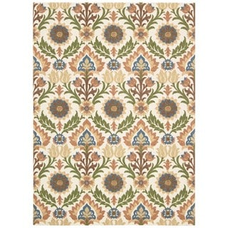 Nourisn Waverly Global Awakening Pear Area Rug (8' x 10')