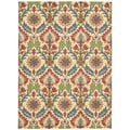Nourison Waverly Global Awakening Spice Floral Area Rug (8' x 10')