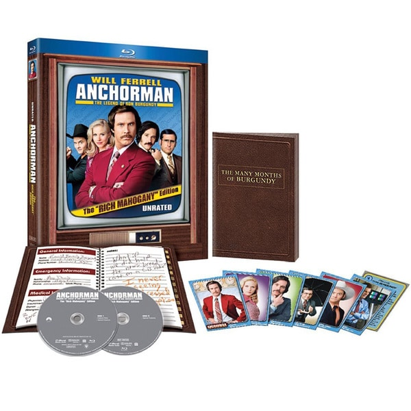 Anchorman: The Legend of Ron Burgundy (Rich Mahogany Edition) (Blu-ray Disc) 11697165