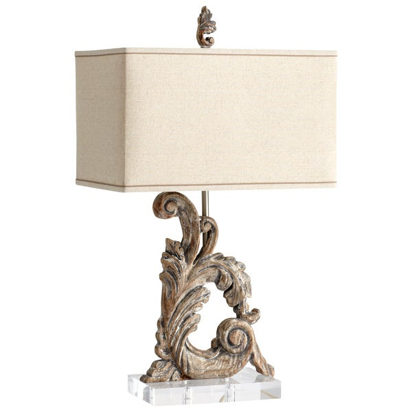Cyan Design Posy Scroll 1-light Wooden Table Lamp