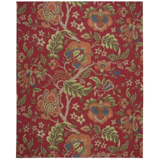 Waverly Global Awakening by Nourison Garnet Area Rug (8' x 10')