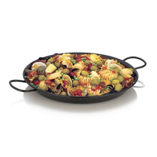 Enamel on Steel 12.5-Inch Paella Pan