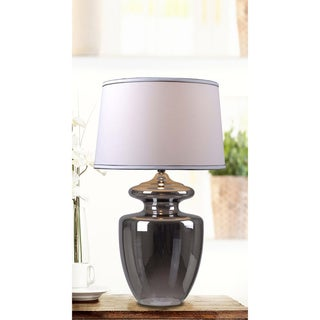 Baden 1-light Amber Glass Table Lamp