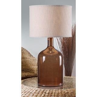 Corsica 1-light Brown Table Lamp