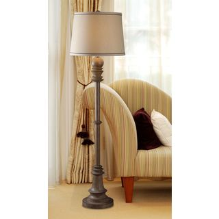 Manicopa 1-light Aruba Teak Floor Lamp