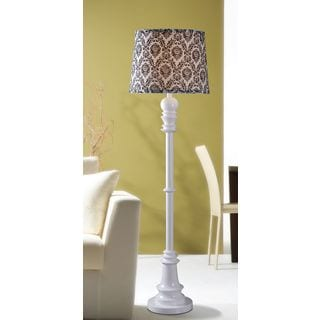 Manicopa 1-light Gloss White Floor Lamp