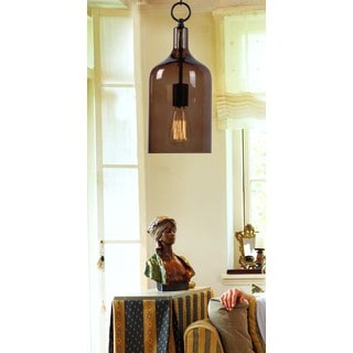 Corsica 1-light Oil Rubbed Bronze Mini Pendant