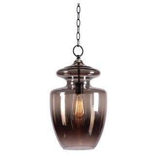 Baden 1-light Pewter Pendant