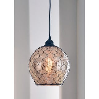 The Curated Nomad Alejo Design Craft Nord 1-light Blackened Oil Rubbed Bronze Pendant