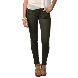 Journee Collection Junior's Lightweight Stretchy Skinny Pants