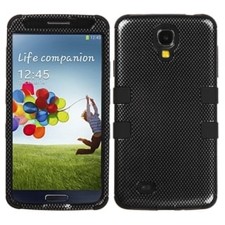 BasAcc Carbon Fiber/ Black TUFF Case for Samsung Galaxy S4