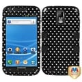 BasAcc Vintage Heart Dot/ Black TUFF Case for Samsung T989 Galaxy S II