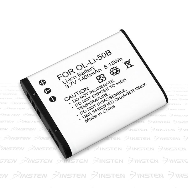 BasAcc Li-ion Battery Set for Olympus MJU 1010 (Pack of 2)