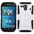 BasAcc White/ Black Case with Stand for Kyocera C5215 Hydro Edge