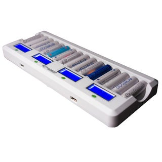 Titanium Innovations MD-1600L Ni-MH AA/AAA Smart Fast Battery Charger