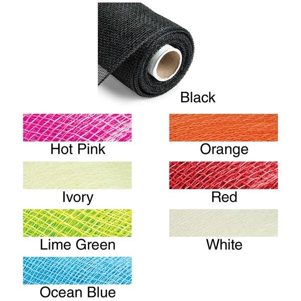 Deco Mesh Ribbon 4in X 20 Yards