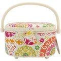 Prym Sewing Basket Oval-Bright Floral