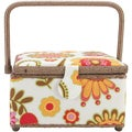 Prym Sewing Basket Square-Light Floral