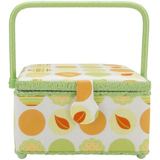 Prym Sewing Basket Square-Nature's Circles
