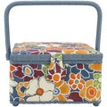 Prym Sewing Basket Square-Solid Floral