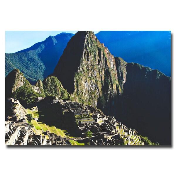Ariane Moshayedi 'Machu Picchu' Canvas Art