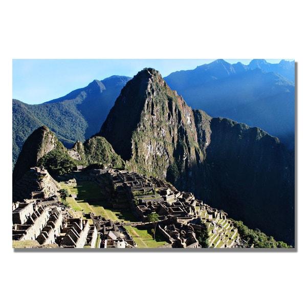 Ariane Moshayedi 'Machu Picchu II' Canvas Art