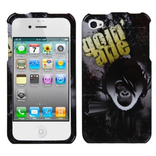 INSTEN Goin Ape Phone Case Cover for Apple iPhone 4/ 4S