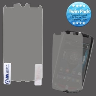 BasAcc Screen Protector Twin Pack for Casio C811 G'zOne Commando 4G