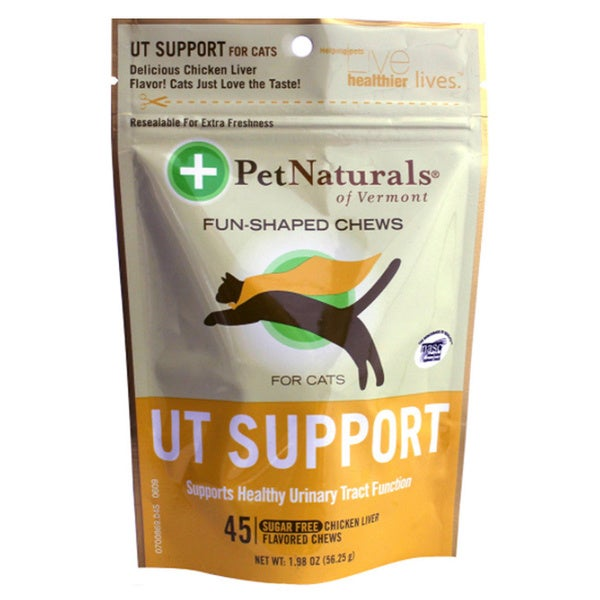 Pet Naturals Of Vermont UT Support Fun-shaped Chews (2 Pack)