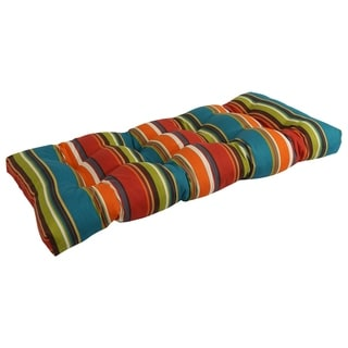 Blazing Needles 42-inch Long Outdoor Loveseat Cushion