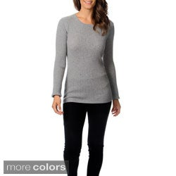 Ply Cashmere Women's Crew Neck Cashmere Sweater