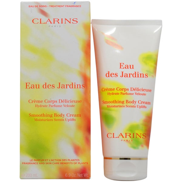 Clarins Eau Des Jardins Smoothing 6.9-ounce Body Cream