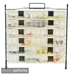 Organized Fishing Modular Wire Rod Utility Box Rack