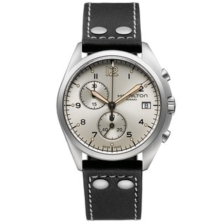 Hamilton Men's 'Khaki Pilot Pioneer' Chronograph Watch