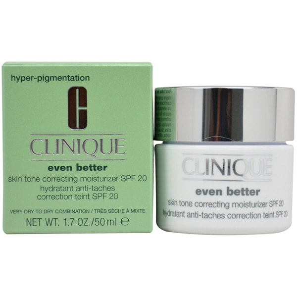 Clinique Even Better SPF 20 Skin Tone Correcting Moisturizer