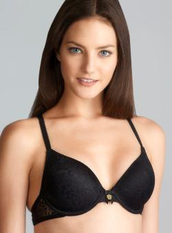Jessica Simpson Hook It Up Black T-Shirt Bra