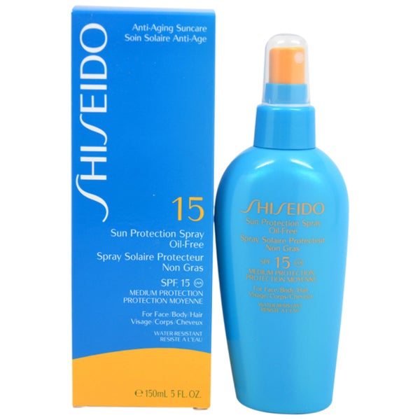 Shiseido SPF 15 Sun Protection Spray