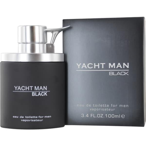 Myrurgia Yacht Man Black Men's 3.4-ounce Eau de Toilette Spray