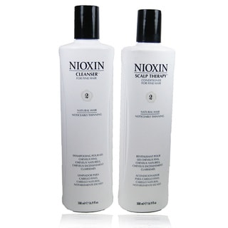 Nioxin System # 2 Cleanser and Scalp Therapy Duo