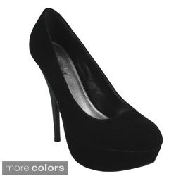 Bonnibel Women's 'Monique-3' Tall Platform Pumps