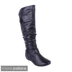 Intouch Women's 'Pacific-5' Slouchy Knee-high Boots