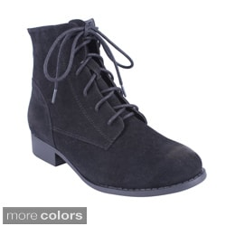 Women's 'Ramses-1' Lace-up Ankle Booties