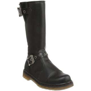 Demonia Men's 'Disorder-304' Black Mid-calf Motorcycle Boots