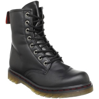 Demonia Men's 'Disorder-100' Black Ankle Combat Boots