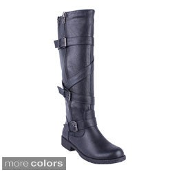 DBDK Women's ''Solita-1 Knee-high Riding Boots